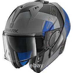 Shark EVO-One 2 Slasher Modular Helmet Gray/Black/Blue