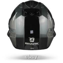 Shark Evo ES Endless Anthracite Black Modular Helmet, Flip up, Free Shipping
