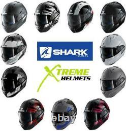 Shark Evo-One 2 Helmet Modular Flip Up Inner Shield Pinlock Ready DOT ECE XS-KS