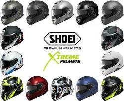 Shoei Neotec 2 Helmet Flip Up Modular Inner Sun Shield Removable Liner XS-2XL