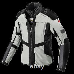 Spidi Modular H2Out CE Textile Motorcycle Jacket Black / Grey