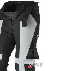 Spidi Modular H2Out Motorcycle Motorbike Textile Trouser Black / Grey