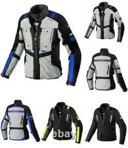 Spidi Motorcycle Bike Polyester Fabric H2Out Modular Touring Jacket Waterproof