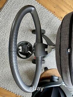 Stokke Xplory V5 Travel System Black Melange Pram & iZi Go Modular Car Seat VGC