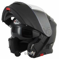 Vcan Blinc V271 Bluetooth Flip Front Motorbike Motorcycle Helmet Satnav Mp3