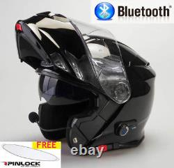Viper Rs-v171 Bluetooth Blinc Flip Front Motorcycle Helmet Free Pinlock