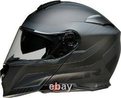 Z1R Solaris Modular Scythe Black Gray Helmet