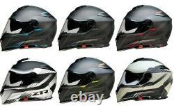 Z1R Solaris Scythe Design Modular Full Face Helmet Street Motorcycle Riding