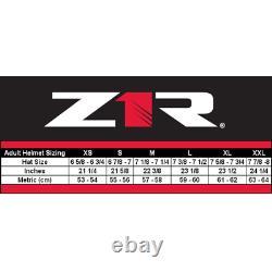 2021 Z1r Solaris Scythe Modular Street Casque De Moto Taille Et Couleur