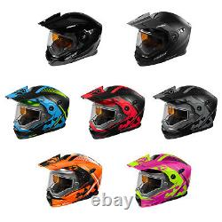 Adult Castle X Dual Sport Modular Snowmobile Helmet Dot Cx950 Focus Atv Utv Sxs