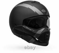 Bell Broozer Arc Plein Visage/open Face Casques Modulaires Moto Street Bike