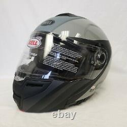 Bell Srt Flip-up Modular Motorcycle Helmet Presence Black Grey Medium M Sample
