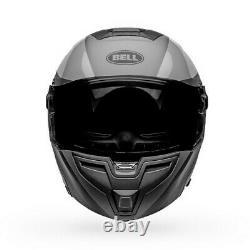 Bell Srt Modular Presence Casque De Moto Matte/gloss Noir/gris