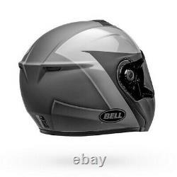Bell Srt Modular Presence Motorcycle Helmet Matte/gloss Black/gray Lg