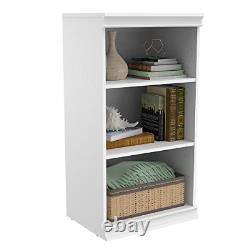 Cabinetmaid 4557 Rangement Modulaire Étagère Empilable- Blanc
