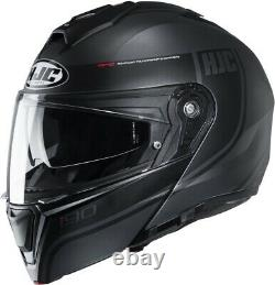 Casco Helmet Modulare Hjc I90 Davan Mc5hsf P\j Nero Grigio Black Gre Matt Tg S