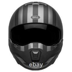 Casque Casco Modulare Broozer Free Ride Matt Gray Black Bell Taille XL