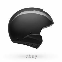 Casque De Moto Bell Broozer Arc Matte Noir/gris Xlarge 7121910