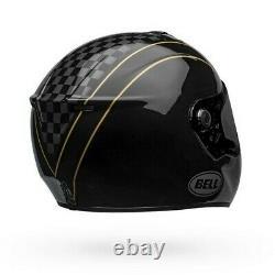 Casque De Moto Bell Srt-modular Buster Gloss Noir/yellowithgray