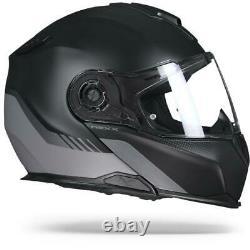 Casque De Moto Modulaire Nexx X. Vilitur Latitude Black Titanium Matte Flip Up Modular Motorcycle