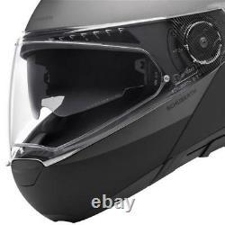 Casque De Moto Modulaire Schuberth C4 Pro Glisser Gris Noir/anthracite