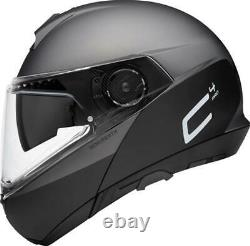 Casque De Moto Modulaire Schuberth C4 Pro Glisser Gris Noir/anthracite Taille Xs