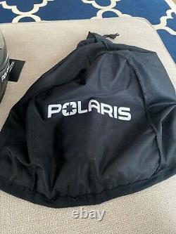 Casque De Motoneige Modulaire Polaris 2.0 Noir Et Gris XXL