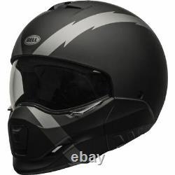 Casques Bell Broozer Arc Modular Helmet Matte Black/grey, Toutes Tailles