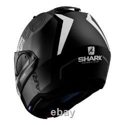 Casques De Requin Evo-one 2 Slasher Mat Noir/gris/blanc Taille L (59-60 Cm)