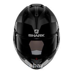 Casques De Requin Evo-one 2 Slasher Mat Noir/gris/blanc Taille M (57-58 Cm)