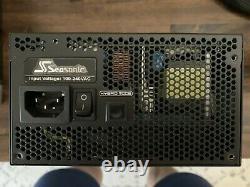 Focus Saisonnier Px-750 750w 80+ Platinum Alimentation Modulaire + Nvidia Fe 12 Broches