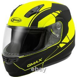 Gmax Md-04 Article Full Face Modular Motorcycle Street Helmet
