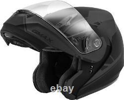 Gmax Md-04 Article Modulaire Casque Matte Noir/gris Sm G1042504