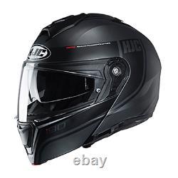 Hjc Adulte Full Face I90 Mc5sf Black Grey Davan Modular Motorcycle Helmet Medium