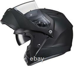 Hjc C91 Taly Casque Flip-up Modulaire Full-face -semi-flat Black/anthracite Grey