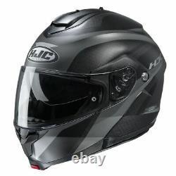 Hjc C91 Taly Modular Street Helmet XL Noir/gris