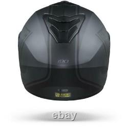 Hjc I90 Davan Casque Modulaire Noir- Livraison Gratuite