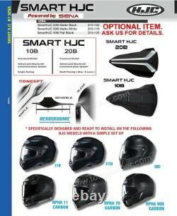 Hjc I90 Davan Modular Flip-up Full-face Motorcycle Helmet -sf Noir/blanc/gris
