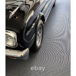 Motofloor Modulaire Autodrainage Carreaux De Garage 40 Pi2. Par Boîte Black / Gray