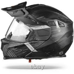 Nexx X. Vilijord Mudvalley Black Grey Matt Modular Motorcycle Helmet, Nouveau