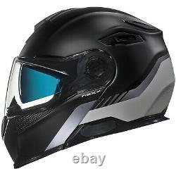 Nexx X Vilitur Modular Motorcycle Helmet Latitude Noir / Gris Choisir Taille