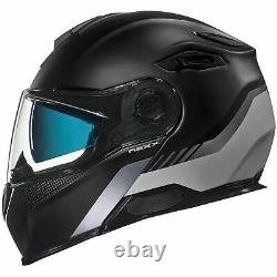 Nexx X Vilitur Touring Modular Motorcycle Helmet Latitude Noir / Gris 3xl
