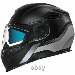 Nexx X Vilitur Touring Modular Motorcycle Helmet Latitude Noir / Gris L