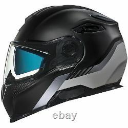 Nexx X Vilitur Touring Modular Motorcycle Helmet Latitude Noir / Gris S