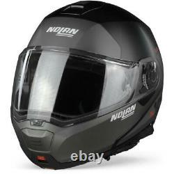 Nolan N100-5 Plus Distinctive 21 Flat Black Modular Helmet- Livraison Gratuite