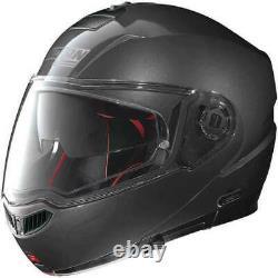 Nolan N90-2 N-com Classique Flip Up Modular Moto Moto Casque Lava Grey