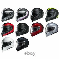Nouveau Hjc I90 Modular Motorcycle Helmet Dot Ece Pick Size & Color