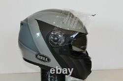 Open Box Bell Srt Modular Motorcycle Helmet Présence Noir/gris Taille XL