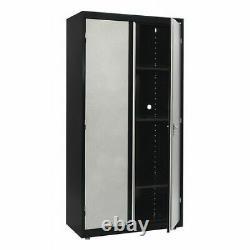 Sandusky Gf3f361872-m9 Armoire De Stockage Modulaire, Gris/noir