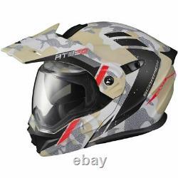 Scorpion Exo Exo-at950 Outrigger Modular Helmet-sand/grey/blk, Toutes Tailles